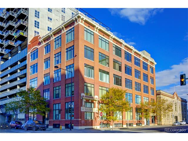 Exterior image of 2000 Arapahoe Street 401 LoDo Denver CO