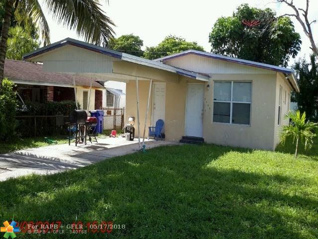 Attention Investors!!! Just close and start collecting rents. Property is turn key and fully rented at $1,100 per month. Long term tenant in place. Current NOI is $10,400 and is currently operating at a 7% cap. This can be purchased individually or as a portfolio of 5 other turn key rentals in Ft. Lauderdale. ML Numbers: F10123302, F10123304, F10123306, F10123316, F10123310. Total Price for Portfolio is $754,500. Seller looking to sell with current tenants.