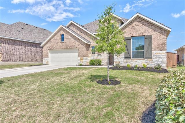 "Motivated Seller bring all offers. Stunning 2-story home is better than new w/ gorgeous upgrades! Home is located in the hill country on a quiet cul-de-sac. Built for entertaining w/ open-concept floor plan, natural lighting, & extended patio on a huge lot! Spacious island kitchen includes SS appliances, 42"" cabinets, & walk-in pantry. Tons of storage w/ 3-car tandem garage. Master suite features w/separate vanities & HUGE walk-in closet. Bonus MIL suite down. Santa Rita Ranch grand amenities!"