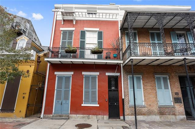 Tiny houses in new orleans crescent city living 421 burgundy street 1 sciox Image collections