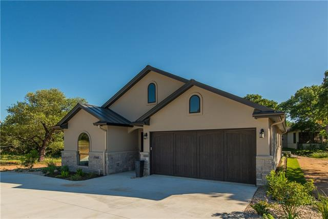 Horseshoe Bay West New Construction w/ 2,400 sq. ft. 3 bedroom 2 bath home on cul-de-sac w/ golf & Hill Country views. Open kitchen, living, & dining rooms. All stainless kitchen w/ granite counters, center island & eating bar. Master w/ sitting area, & en-suite bath w/ walk-in closet. Two additional guest rooms share a hall bath. All season room w/ fireplace. Outdoor patio, w/ great views of the surrounding nature, is the perfect place for winding down after a demanding day.