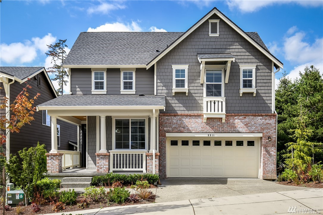 Delight in this spacious & bright 2016 Toll Brothers 4 Bed 3.5 Bath 3280 sq. ft. home - only steps to Newcastle Elementary School. Family room w/gas insert & chef's kitchen features large deep Island sink. Beautiful wood floors throughout main, office, AC, extra privacy w/open area next door, enjoyable & extensive deck w/wide open view. 5 piece master bath w/walk-in closet. Daylight basement offers full bath, bedroom & large rec room w/slider to private 5 person hot tub & fully fenced backyard.