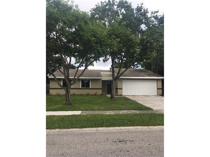 Don't miss this opportunity to live with in walking distance to Tampa Bay water ways. A rare find in this neighbor hood, TWO CAR GARAGE, 3 bedroom, 2 Bath split plan home. Very spacious! Schedule your appointment today!!