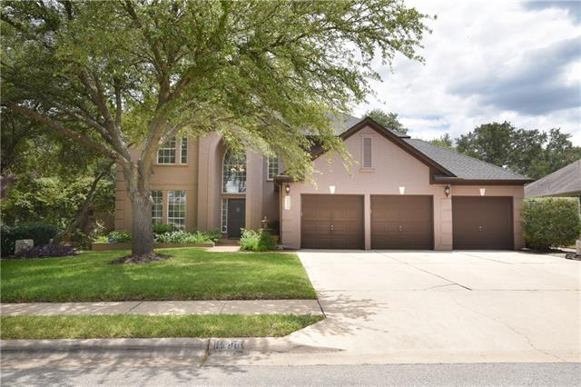Very stately home with amazing backyard oasis. Huge pool with spa. 4 bedrooms and 4 baths compliment this great home.  Kitchen has been updated, new fixtures and appliances, granite countertops. 2 story entry and 2 story family room make it very light and bright. 3 bedrooms up along with a full media room.  You must see this huge backyard, ample space for trampoline/playscape, etc.