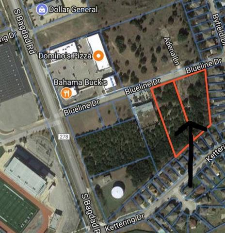 Over 2.5 acres prime Commercial property.  Property is level, all utilities are at front of property, less than a block from Leander High School and Bagdad Road. Zoned General Commercial.  Priced to sell at under $5.00/sf