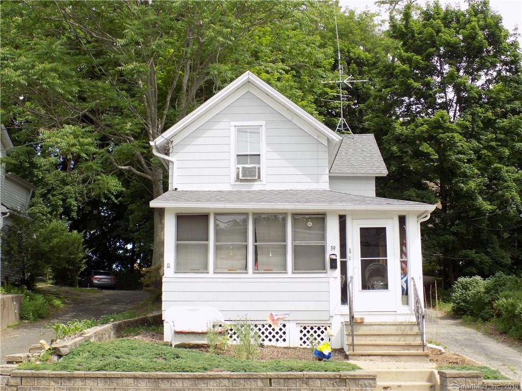 Great starter home or  if you are seeking downtown Bethel living. Well maintained older colonial with 1000 plus square feet of living space, enclosed 3 season front and side porch. 3 Bedroom 1 bath and parking in rear and grassy area to play or enjoy a beautiful day. This home is conveniently located steps from downtown Bethel and all it has to offer shops, dining, Metro North Train station with service to NYC and many more destinations. Please call for information or to schedule a visit to this home.