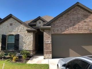 Beautiful 4 bedroom 2 bath located near Saginaw, TX! The popular Oliver floor plan offers luxury kitchen equipped with built in stainless steel appliances, granite counter tops. The kitchen overlooks a good sized family room. The master bedroom has a beautiful bay window, big walk in closet.