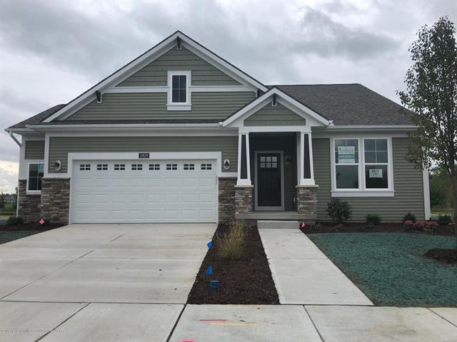 The Willow 2 by Eastbrook homes! Beautiful Villa style stand-alone ranch site condo on the 1st fairway of College Fields Golf Course! 3-4 bedrooms, in-home office, beautiful views of golf course from 4 seasons room. Finished LL with 2 bedrooms, full bath and large rec room with fireplace!