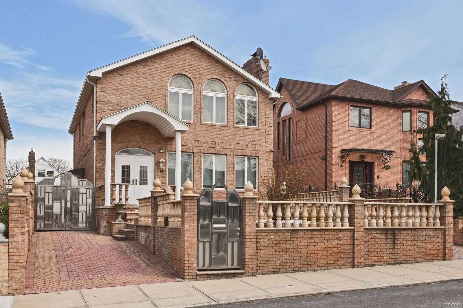 Beautiful 1 Family Detached House For Sale!! House Features Formal Dining Room, Large Living Room W/Fireplace, Eat In Kitchen, 5 Bedrooms, 4 Full Baths, Lovely Porch, Beautiful Backyard And Much Much More...