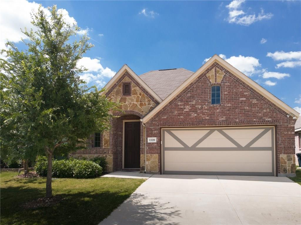 Very pretty one story house close to Decatur, Fort worth and Dallas. The house is loaded with granite kitchen counter top kitchen island, stone fire place and updated lights and tile. There are three bedroom plus  study or can be used as 4th bedroom.  Community swimming pool, parks and playground.  Close to I-35 and 114, Alliance airport.   Do not miss this one.