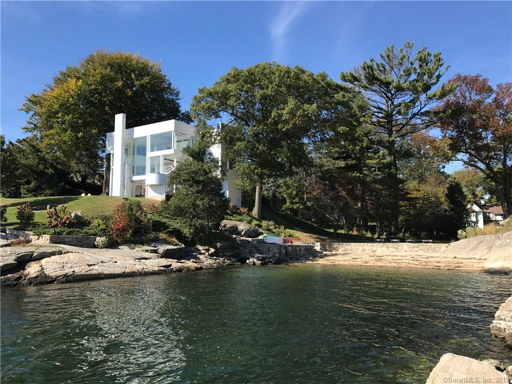 "Important, Iconic, and World Recognized. This livable four bedroom masterpiece of 20th century design by acclaimed Architect Richard Meier is available for sale for the first time in 50 years. Incomparable clear views of Long Island Sound facing South. A true retreat with a private beach less than one hour from New York City.  As architectural critic Paul Goldberger states ""It is rare that an architect creates an iconic image at any point in his or her career....Richard Meier was 31 when he produced the design for the Smith House( 1967) in Darien, Connecticut, one of those buildings that ...defined the American domestic architecture of an era...."""