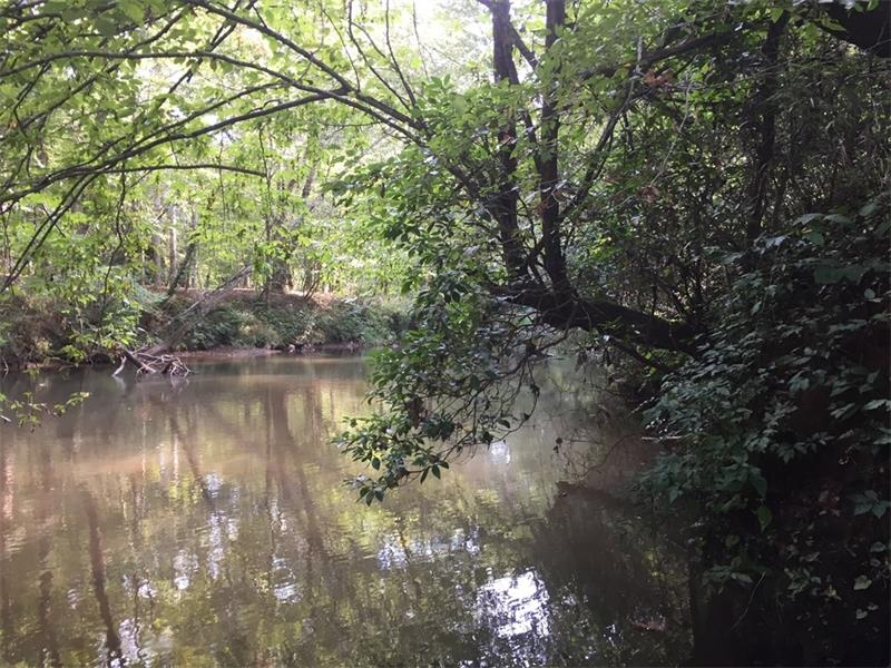 Lovely Soque River property. Less than a mile to downtown Clarkesville. Two hundred and fifty foot of river frontage.