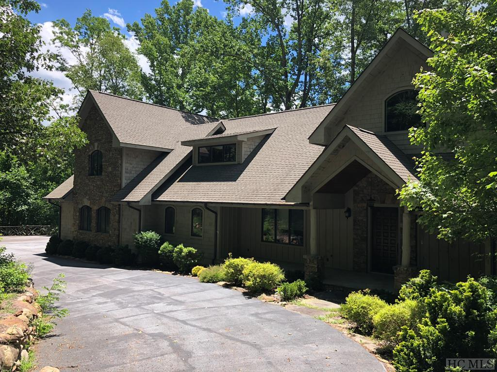 Wonderful mountain home with all of the amenities located in the private gated community of Spring Forest.  High end appliances, hardwood floors, large media room, out door built in grill.  Some mountain views currently, greater views potential with trimming and tree cutting.  This is a bank owned home.  No RPDS required.
