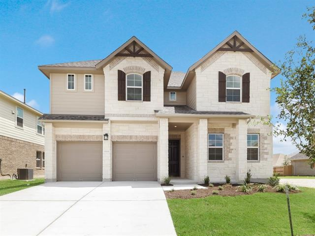 MLS# 7915102 - Built by Brohn Homes - July completion!! ~ 5 Bedrooms (2 down & 3 Upstairs), 3 Baths, Game room and Media room. Master is downstairs with bay window.  Home upgrade extended patio, 42 Birch kitchen cabinets, Built-in kitchen appliances, mud room and upgraded flooring..