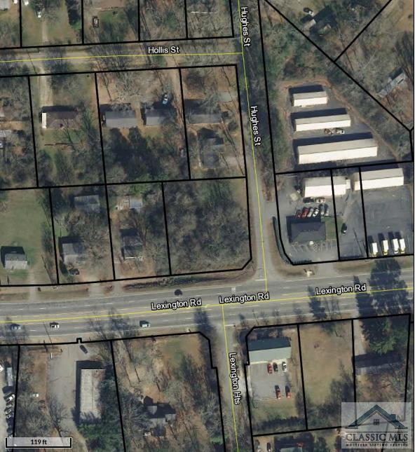 Commercial - General zoned lot in high traffic area (traffic count of approx 30,000). Good topo, established businesses in proximity. Prime retail / business corridor in Athens.