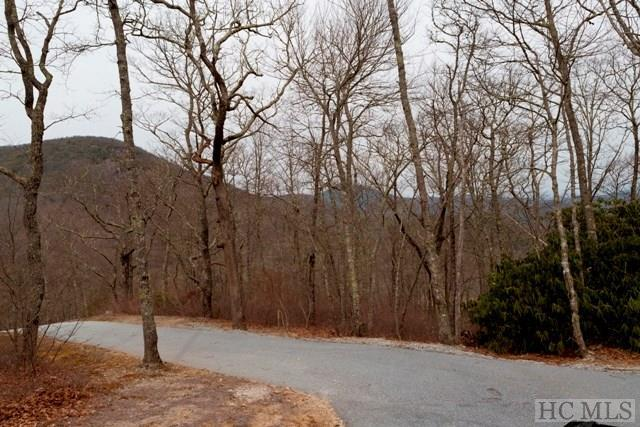 Incredible panoramic mountain and golf course views from this gently rolling building site.