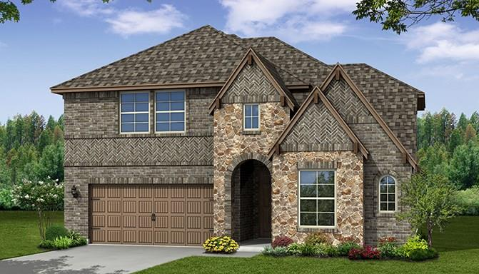 Beautiful Beazer Home Summerfield floor plan. This stunning two story home features 2 story ceilings, a gourmet kitchen and master and second bedroom downstairs. This home includes a study,a pet space, large master bedroom and bathroom, game room and media room. Frisco ISD. Estimated completion June 2018.