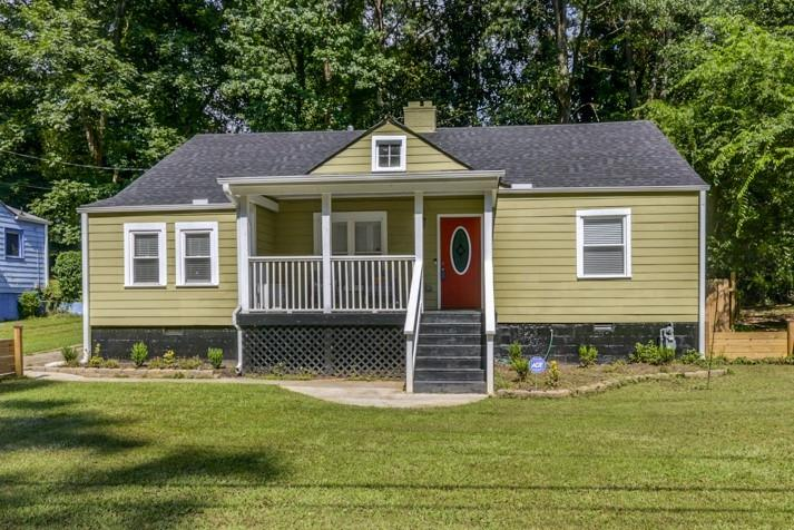 WOW! This CHARMING home has been fully RENOVATED! Stunning HARDWOOD floors throughout! The open living room boasts trey ceilings and a cozy fireplace! The beautiful kitchen features white cabinets, GRANITE countertops, stainless steel appliances, and a breakfast nook! Master SUITE with sitting area! The LARGE, flat, and fully fenced backyard features a spacious deck! BONUS room could be used for home office or playroom! NEW HVAC & hot water heater! Convenient location near BETLINE, downtown Atlanta, and Atlanta's great Universities!