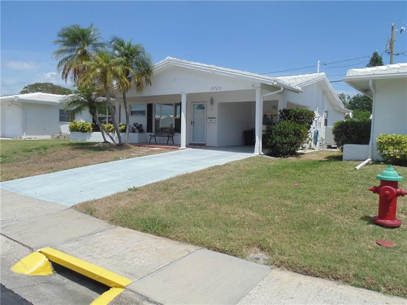 Mainlands is a 55+ Residential Pud Community with lots of community activities.   Unit Group One has exterior Home Maintenance, Roof - Exterior Painting - Water Sewer Trash and Lawn + covered in their association fees. This home is renovated.  It is located across the street from the Freedom Lake private gated Entrance.  Freedom Lake is a beautiful community lake & park with picnic areas, jogging or walking trails and an exterior exercise circuit.  There is a community garden area. The Golf Course is within a few blocks of this home.  There is both Membership or game by game availability with an extra fee.  This home has numerous special benefits in a great park location, as well as easy access to shopping centers, movies, bus, restaurants, and markets. Centrally located there is easy access to Clearwater, Tampa, and St. Petersburg arts & entertainment.  One of the Largest Flea Markets in the area is on the way to beaches ranked #3 in the US.  This community offers many social opportunities, pool, along with golfing.  The living, dining and family room surround a large open kitchen with an office center, in front of a sunny window. The Kitchen Counters are granite, you can add your personal touch with backsplash and appliance selection included in the price.