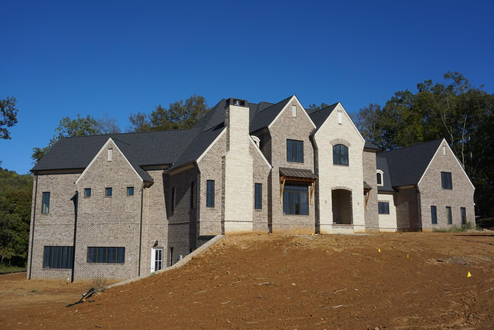 Gorgeous custom home by Trace Construction. Spacious 5 bedroom, 5 full bath plus 2 powder rooms on 3 levels. Sits on 2.2 acres at end of private cul-de-sac. See media for floor plan/dimensions. Great private outdoor living space! LOCATION is spectacular in this secluded luxury gated community!