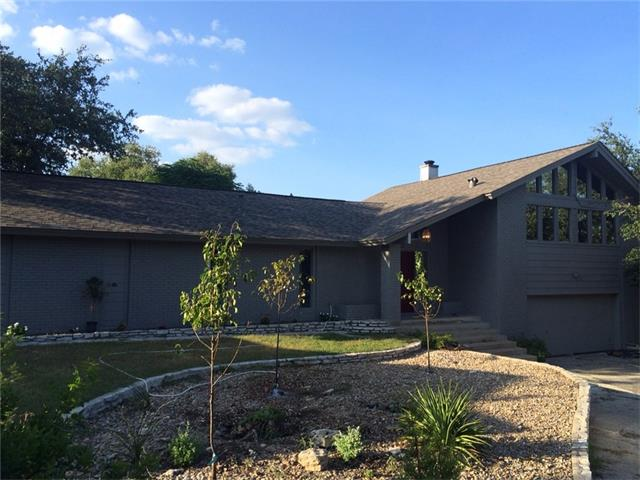 Short term rental eligible. Permit app submitted. Next to private Airstrip.Awesome 70s floorplan,split level home. Every room has exit to backyard. Circle driveway,new 30 year comp shingle roof,fresh exterior paint,large upper deck off family room,media/game/2nd living/4th bedroom on bottom story w/it's own entry. Fresh interior paint,hand-scraped 12mm dark hickory laminate throughout middle story. Large master with dbl vanity,walk-in shower,walk-in closet. Real butcherblock. Block from Swim Center!!