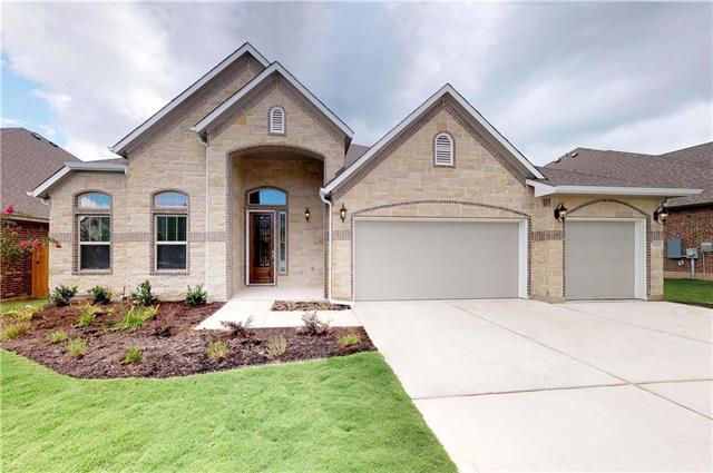 The Kennedy is a 3200 SqFt Single Story with a 20' vaulted ceiling highlighting the  Kitchen, Family Room, and Covered Outdoor Living area.  4 beds, 3.5 baths, 3 Car, Study and Gameroom. Designer Updrades throughout. Fully Sodded w/ Sprinker and Privacy Fence.