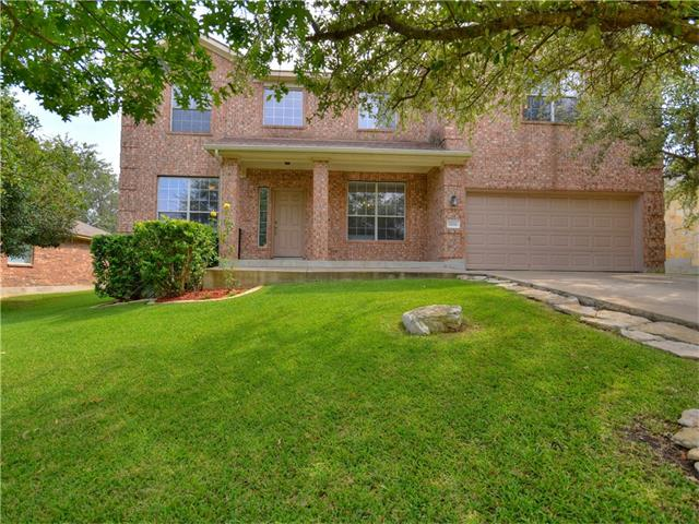 HUGE PRICE IMPROVEMENT! MOTIVATED SELLER!  Spacious 2 story home features a br & full ba down, formal Dining Rm & priv Office plus large Family Rm. Open Kitchen w/ stainless steel appliances, Corian counters, center island. Upstairs, Master has 2 walk in closets, garden tub, glass enclosed shower & double vanities Bonus game/media room. Backs to Greenbelt. Patio w/ extended stone, great for entertaining. Inground sprinklers. Boulders has Pools & Park,Tennis, Playscapes, Fishing, Disc Golf, Pavilions.
