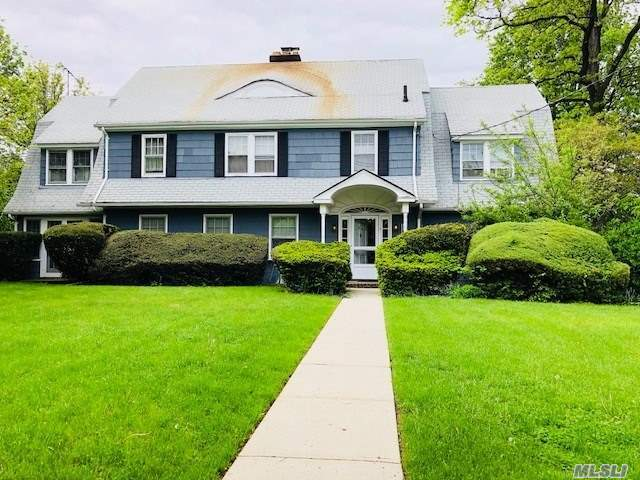 This Address Is Also Known As 53-68 Thornhill Ave.  Exceptional Large Lot: 124 X 162' Irregular.  Charming Dutch Colonial In Need Of Tlc. This Large Suburban Home Has Maids Quarters With Private Staircase. Attached Oversized 2-Car Garage In Rear.