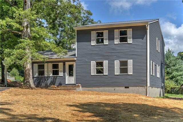 Beautifully Redone two story in great South Asheville area.  Large master on main with 3 bedrooms up.  New paint, HVAC, Master Bath, Carpet, updated Kitchen with Granite Counter Tops.  Screened Porch on back.  Laundry on main.  Single Carport.  Must See