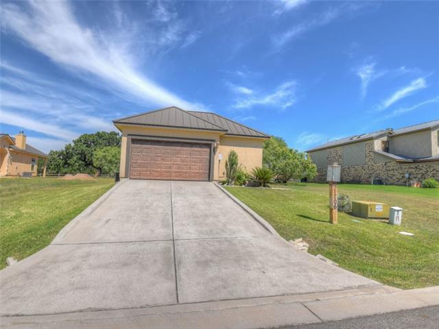 Like new Garden Home on #13 Applerock. Large kitchen and open living/dining. Covered patio w/electronic screens. Casita for 3rd bedroom/bath. Granite counters, wood floors, carpet and tile. Shows like new. Extra lot conveys for more elbow room.