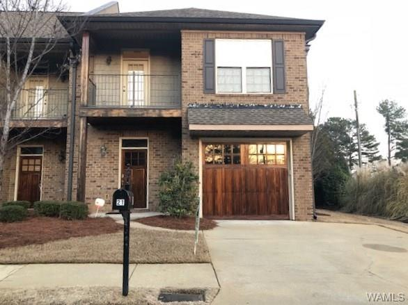 Wonderful townhome,end-unit in sought after Verner/RQ/Nridge zone. Hardwood throughout main level & open  plan. Kitchen has ample cabinets,pantry,granite, stainless appliances including new Samsung convection gas range & Samsung convection microwave. Separate dining area w/spacious living area & new gas logs.  Upstairs: 3 bedrooms w/large closets,2 extra closets. Huge master w/separate garden tub & shower, walk-in closet & granite countertop w/his/her vanities.  Upgraded lighting & ceiling fans, including chandelier in master & crystal chandelier in 2nd bath! Security system w/keyless front & garage door entry.Nice outdoor living with end unit and pretty side yard,patio and balcony & sprinklers.New dishwasher, paint, carpet. HOA dues cover ins also on the building saves on your pmt.