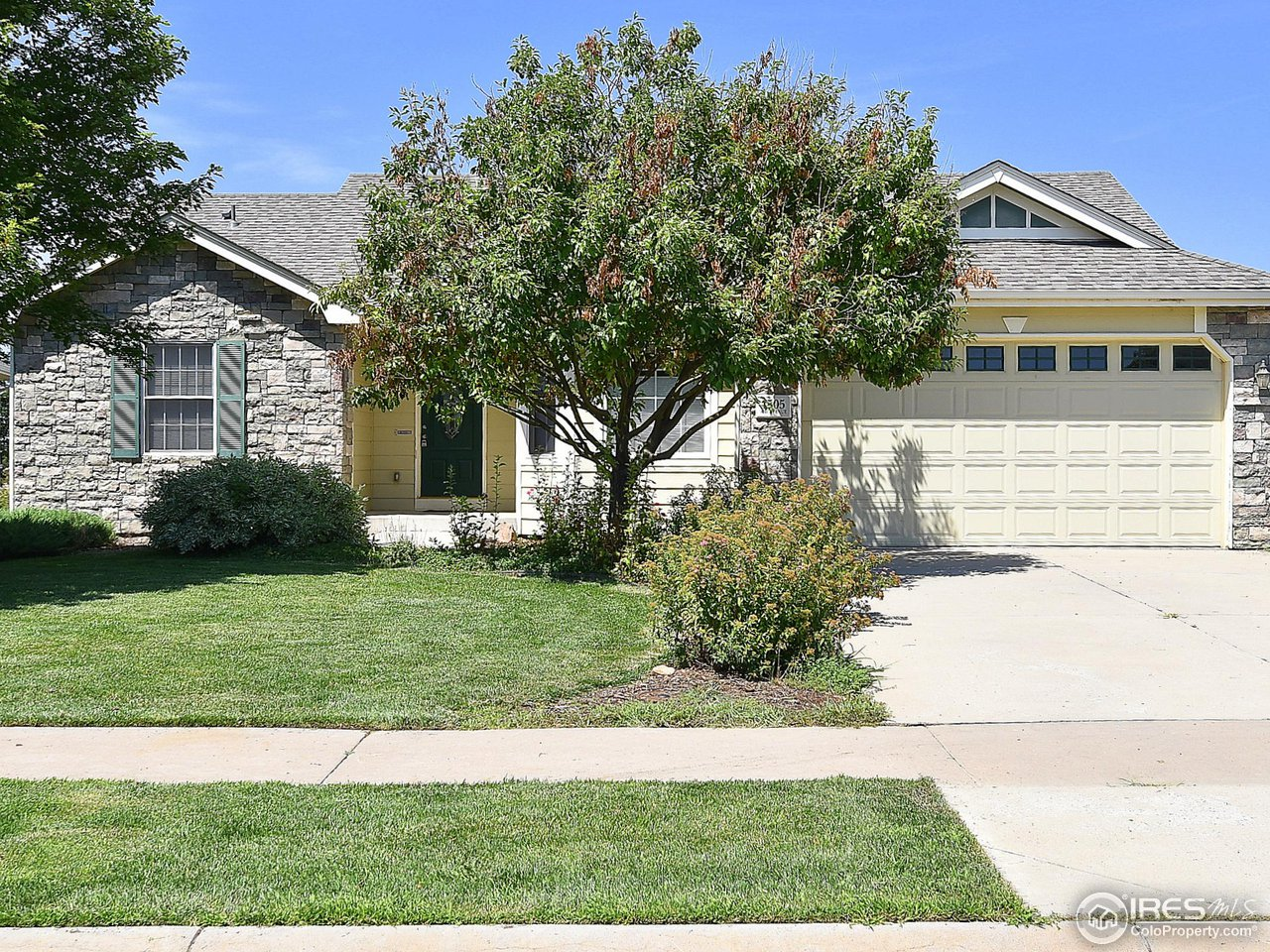 Incredible ranch with mountain views and a walkout basement backing to open space and walking path that take you Greeley Family FunPlex! 5 bedroom 3 bath home with open floor plan and wooden floors. Large master bedroom with 5 piece master bath and walk in closet. Main floor laundry. Full finished basement with two additional bedrooms and a large family room. Central Air Conditioning. Located blocks to library, medical facilities, and grocery shopping. Easy access to HWY 34 and I25.