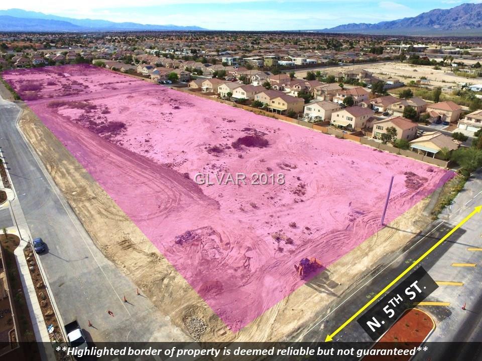 0 N 5TH ST. / Verde Way, North Las Vegas, NV 89031