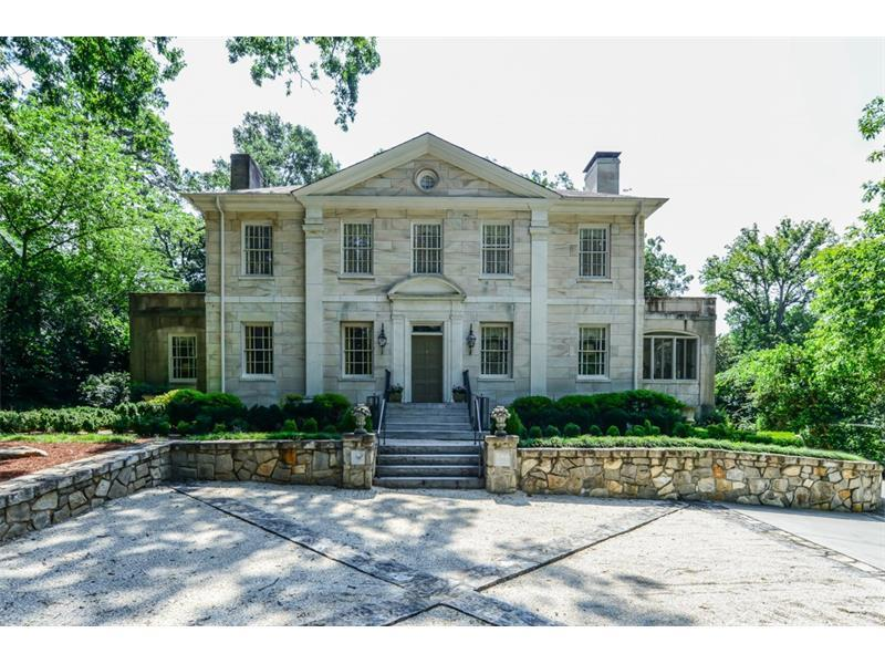 You are buying history when you purchase 3201 Habersham at this new inviting price! Marble Hill is ready to sell. Only 3 owners since 1935 and all in the family! The current young owners totally restored it in 2012 to bring it into the 21st century while maintaining all the historical features. Large fireside Living Room and 2 small most cozy sitting rooms. Level old yard Atlanta character! Please see Video.