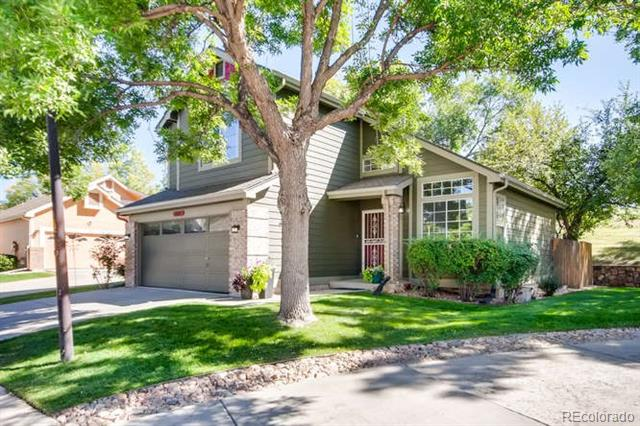 Come see this completely remodeled gem, in the very desirable Highlands Gardens neighborhood. Beautifully landscaped, this master planned community allows for a nearly maintenance free lifestyle. This Home is just a stones throw away from the entrance of the Highline Canal trail. You can Hike or bike to the many parks, shopping and dining that downtown Littleton has to offer. Some of the recent remodeled features include a brand new kitchen with all new cabinetry and hardware, Corian counter tops and recessed lighting. Exceptional quality is evident in the newly remodeled bathrooms and basement . With energy efficiency the goal, a new climate controlled ceiling fan, Nest thermostat and a double pane energy efficient sliding back door were also added. And to keep the maintenance to a minimum, new gutters with leaf guards were added. This house is in the HEAT of Littleton and won't last long.