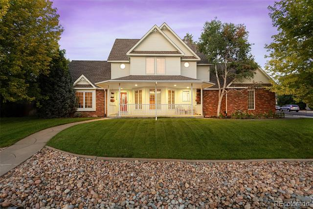 A manicured front yard & adorable porch will have you falling in love before you even walk through the door of this beautiful home in coveted Allison Farm. Large corner lot, oversized 2 car garage, & tranquil backyard w/ new Trex deck complete the exterior. Upon entry you'll find gleaming wood floors, vaulted ceilings, updated kitchen with granite/stainless/double ovens - perfect for entertaining. Spacious bedrooms, 5 piece master bath, rec room & wet bar in basement round out this perfect home.