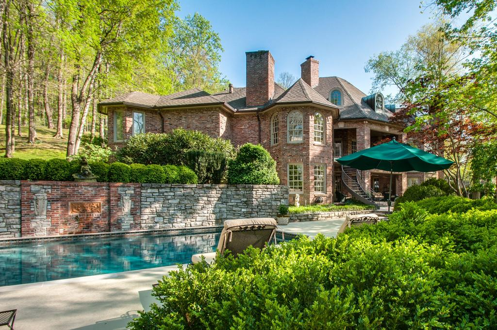 Great home in the heart of Belle Meade! Over 5 acres. Offers privacy. This custom beauty has wonderful features that make it family friendly. A wonderful water feature and gazebo make for a peaceful setting. Swimming pool is an added amenity.