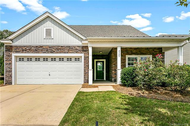 This former model home boasts an eat-in kitchen with upgraded cabinets, new granite counter tops, stainless steel appliances, new carpet downstairs, office complete with built-in bookcases, and a spacious first floor master with ensuite and walk-in closet. Upper level features the third bedroom, full bath and large bonus/loft space. The Lakeridge neighborhood has a large pool, tennis court and clubhouse and is conveniently located to amenities including shopping, medical, airport and highways.