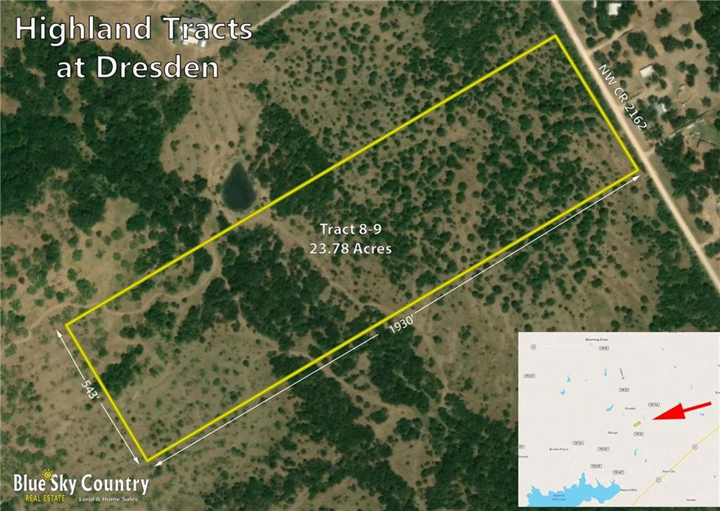 TR 8-9 NW County Road 2162 Road, Blooming Grove, TX 75102