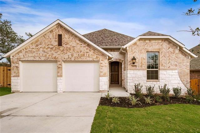 MLS# 4089296 - Built by Highland Homes - Ready Now!! ~  Stone & Brick Exterior, Open kitchen/breakfast,dining/family area, extended outdoor living, Has Study,and interior utility room. Master suite has garden tub, walk-in shower & large closet.Fireplace in family room has gas starter.