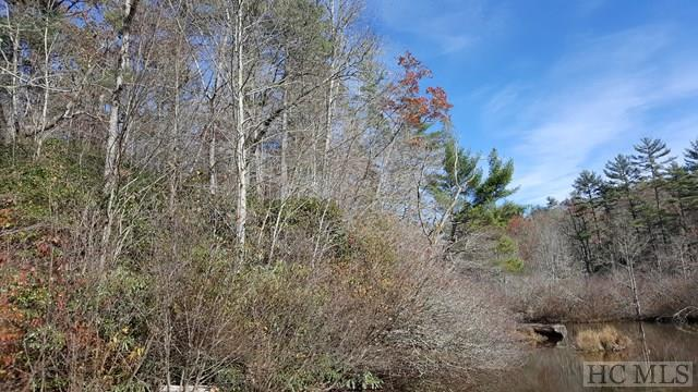 Here's your chance to own a highly desirable Lake Sequoyah building lot located in town.  This .37 +/- acre is covered with beautiful native rhododendron and has stunning views of the finger creeks of the lake.   Easy access with a combination of paved and gravel roads.  Town utilities including water and sewer available.  New survey on file.  An ideal spot to build your perfect mountain getaway or your year-round dream home!