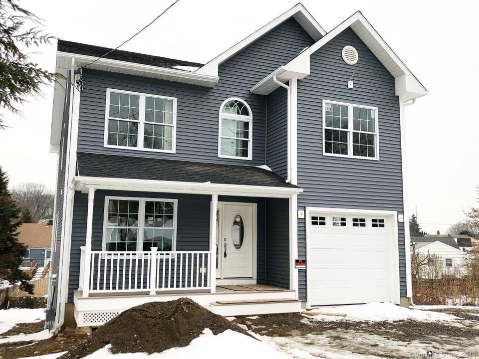 There is nothing like New Construction!  Welcome to 70 Kaechele Pl., located in the North End of Bridgeport, on the Trumbull line.  This home was masterfully designed and built with the highest quality of materials.  First floor boasts a open floor plan front to back living room / dining room concept.  A chefs dream, this kitchen has lots of counter/cabinet space & a over-sized center island.  Natural gas cooking properly vented with an over the range hood, microwave drawer - stainless steel high end appliance package!  The second floor offers 4 good sized bedrooms & a spacious master bedroom with on-suite & approx. 12 x 5 walk-in closet.  Laundry is conveniently located on the second floor.  Looking for future expansion options?  This home is built with a walk-up third floor.  This space can be finished to add over 700 SF of living space.  The majority of the basement is above grade, offering lots of natural sunlight (3 full sized windows & a full size glass sliding door) and a walk-out to the backyard.  Hardwood floors throughout the entire home, detailed trim package (lots of crown molding).  Energy efficient mechanicals, natural gas & tank-less high efficiency hot water.  Tremendous curb appeal, outstanding floor plan and desirable location - nothing left to do but move-in!  Taxes reflect land value only, will adjust upon home completion.  Buy new construction and drastically reduce your after closing expenses!  Floor plan available upon request.