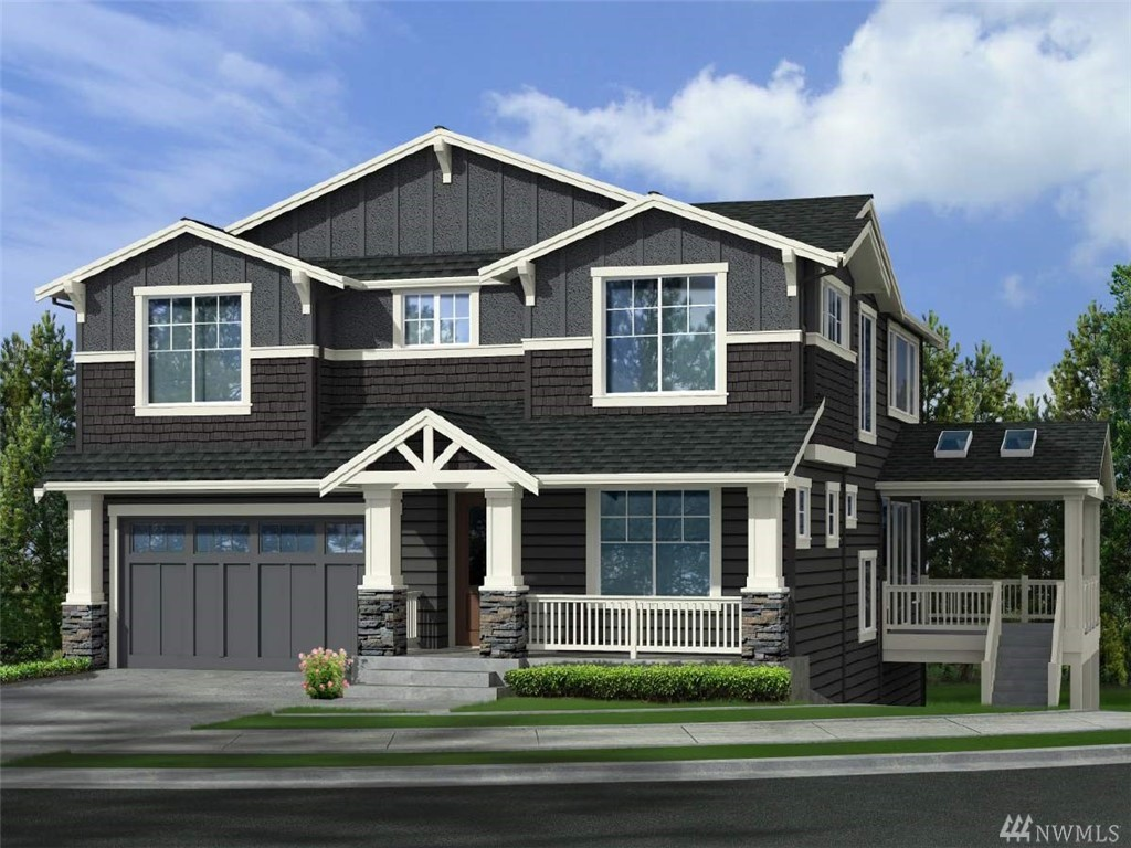 The Collection, by Murray Franklyn is a group of 8 homes in the idyllic Verona community. Featuring superb finishes and floor plans and a prime Redmond location.  Taking advantage of the western placement, Verona enjoys exclusive access via a path to the Burke-Gillman trail. The Hickory plan on Lot 17, will have 4 bedrooms plus a den, 4 bathrooms, mud room, dream Chef's kitchen with stunning island, rec room and covered deck. This property is being sold pre-sale.