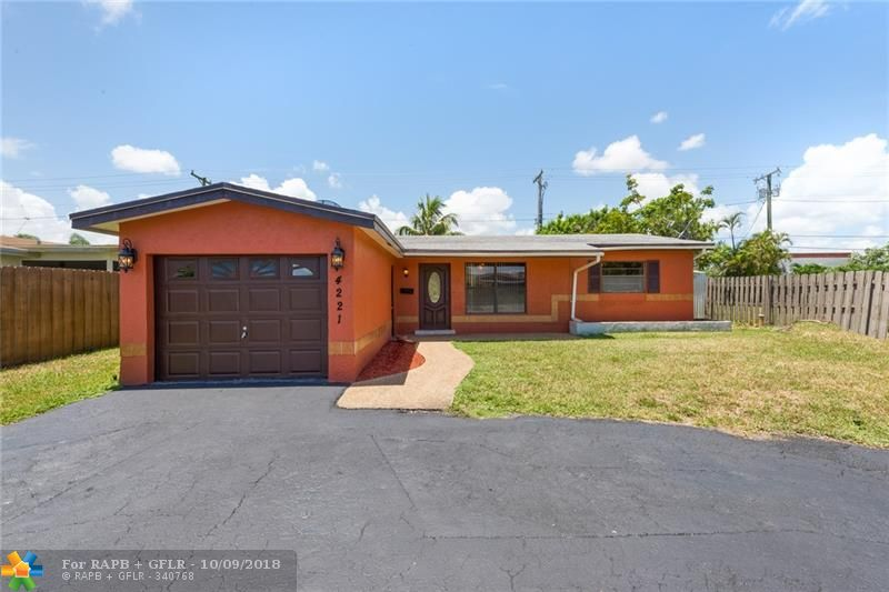 Gorgeous 3 bedroom-2 bathrooms home located in desirable Coral Heights! Circular driveway, huge fenced yard and attached garage. This home has split bedrooms with ample closet space, wood flooring, granite countertops, new stainless steel appliances and dining area which has a view of the pool outside. Perfect for gatherings! Located near schools, shopping, dining and main roads.