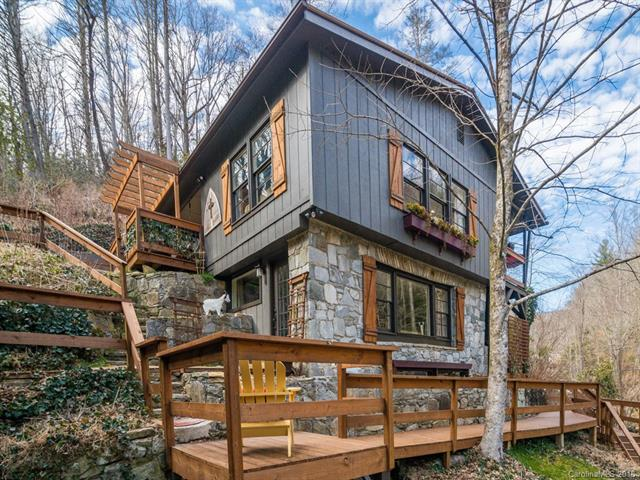 """VRBO INVESTOR ALERT!  Need a 10% CAP Rate?  Need a turn-key VRBO already fully booked almost solid til Oct? Need a gourmet cabin with a waterfall?  Need a location 15 minutes from a major tourist destination like Chimney Rock and 20 minutes to Asheville?  Need a long list of 5 Star Ratings from previous guests about their stay WHO WANT TO COME BACK? Here's what guests are saying -""""We were completely blown away by the property from the moment we began the ascent up the wooden/stone staircase. So many different levels (both inside and out) with breathtaking views as we were surrounded by mountains, trees, and the rushing water.  The sound of the creek is so peaceful and the fire pit is top notch.  Everything we could have ever asked for in an Asheville getaway!  One of my favorite places in the world to drink a beer (and/or whiskey ginger) SERIOUSLY UNFORGETTABLE!!  (Check - in 7/4/18)."""""""