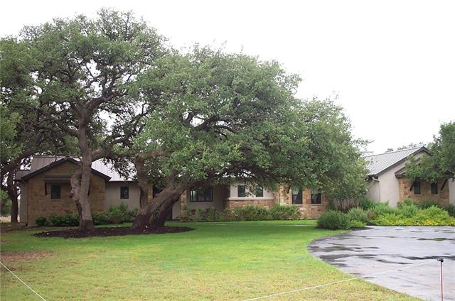 This is an offering of one of five Equine Ranchetts within Rancho Bella Development, gated community, mature Oak trees, pasture, 15 acres, pond, hill country views. Plenty of room to build guest quarters, barn facilities. Home features designer accents, outdoor cooking area, 3 car garage with extra parking. 22 minutes to downtown Austin in highly desirable Dripping Springs!