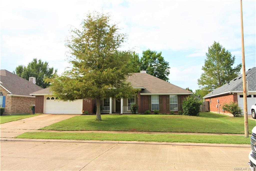 shreveport-bossier real estate, image of a move-in ready single family home.