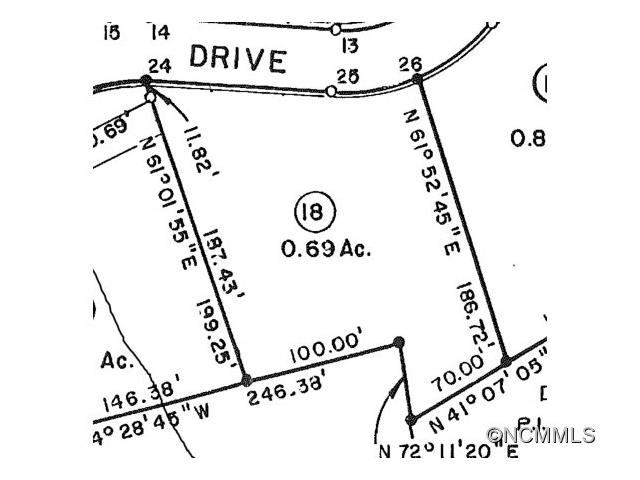Nice wooded almost 1 ac. lot with views. Paved road access, privacy.  2 adjacent lots also available.