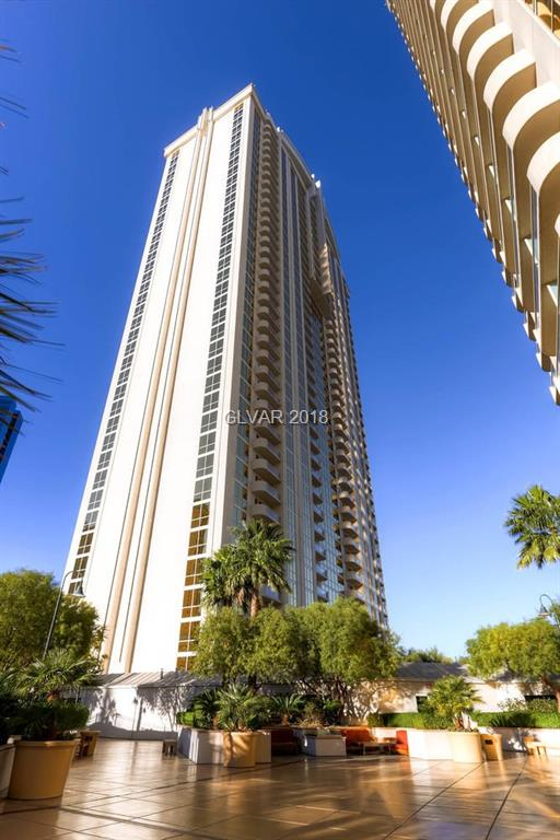 Tower 3, 1 Bedroom & Studio Penthouse combo (2002 & 2004) on 20th floor with MGM Pool and Top Golf Views! Designer furnished turnkey. Jacuzzi tub, plasma TVs, custom Snaidero cabinetry w/ granite counters. Designer furniture & furnishings. Owner's pool/spa, lounge, gym, valet, concierge & access to MGM Grands amenities: Pool/spa, casino, shopping & restaurants