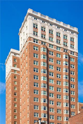 Fifty-six residences in a historic tower designed by famed architect Albert Kahn offer breathtaking views of the Detroit River and skyline. Every home exemplifies Downtown living at its finest. Refined finishes meld with the vintage charm of the Fort Shelby Residences. Quartz, wood and steel, new elements in this century-old architecture enhance the beauty of each home, while modern appliances & systems elevate their comfort to a luxurious level. This floorplan (Coltrane) is a very spacious 1-bedroom suite with great views of the Detroit River. Master suite offers a desk nook and walk-in closet. Unit comes with one parking space with 24/7 valet or self-park options. Amenities include on site restaurants, bar, coffee shop serving Starbucks Coffees, 24/7 fitness center, private residential lobby & concierge. Ask your agent for the property brochure or visit the Fort Shelby website (Fort Shelby dot com)